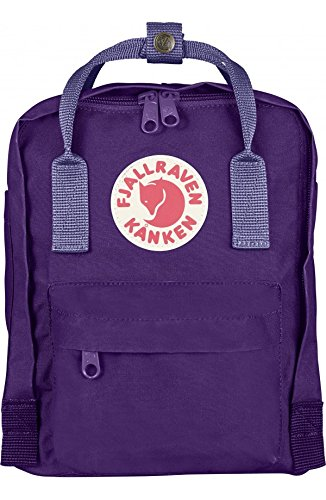 Fjallraven Kanken Mini Backpack (Purple-Violet)