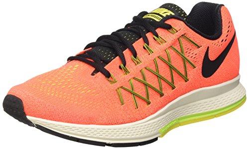 Nike Wmns Air Zoom Pegasus 32, Zapatillas de Running Para Mujer Naranja (Hyper Orange / Blk-Vlt-Opt Yllw)