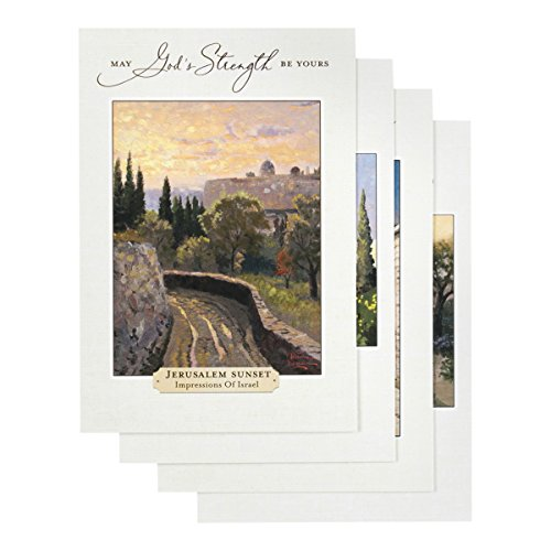 (Thomas Kinkade - Get Well - Inspirational Boxed Cards - God's Strength)