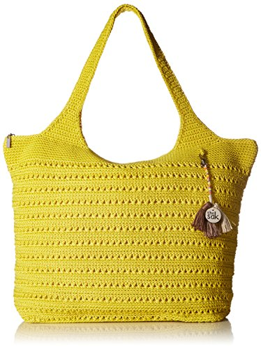 The Sak Palm Springs Extra Large Tote - Citron - One Size