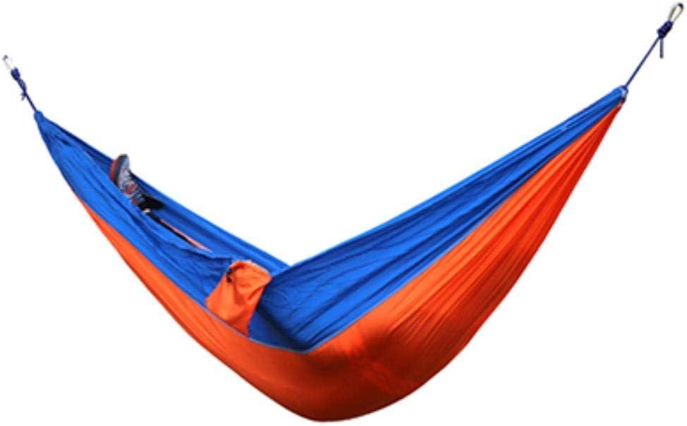 Portable Nylon Hängematte Schlafsofa Schaukel Outdoor Reise Camping-~