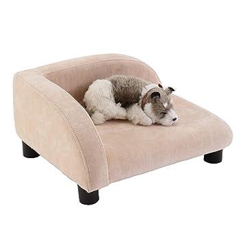 Cama para perro mascotas Cama y sofá para Perros de Tela de Felpa, casetas para
