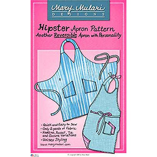 MARY MULARI DESIGNS HIPSTER APRON Sewing (Design Sewing Pattern)