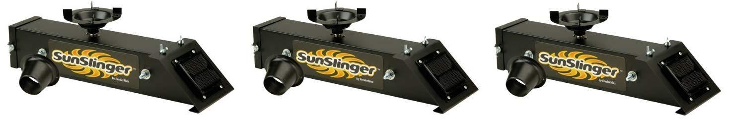 AMERICAN HUNTER Sun Slinger Directional Feeder Kit (Thrее Расk) by AMERICAN HUNTER