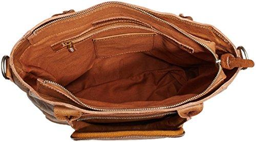 Cowboysbag Marrón Bolso 320 Mellor Bag tobacco Hombro Unisex De rrRfqwx