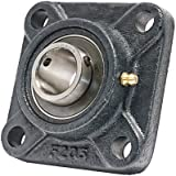"1"" Mounted Bearing UCF205-16 + Square Flanged Cast Housing"