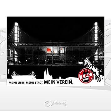 Poster Wandbild  Fc Koln Din A Cm X Cm Stadion