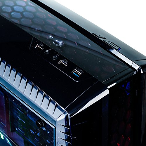 iBUYPOWER Elite Gaming PC Computer Desktop N27B 061A (AMD Ryzen 5 2600 3.40GHz, NVIDIA GeForce RTX 2060 6GB, 8GB DDR4-2666 RAM, 2TB HDD, 240GB SSD, WiFi Included, Win 10 Home, VR Ready), Black