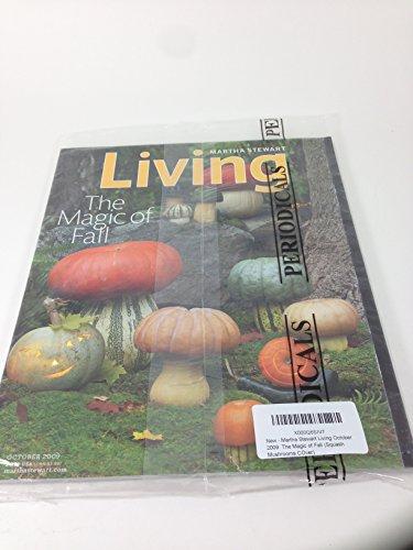 Spooky Halloween Cocktail Ideas (Martha Stewart Living October 2009: The Magic of Fall (Squash Mushrooms)