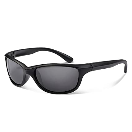 8fd388504a Occffy Polarized Sports Sunglasses For Men Women Durable Frame Sun Glasses  For Driving Cycling Baseball Running