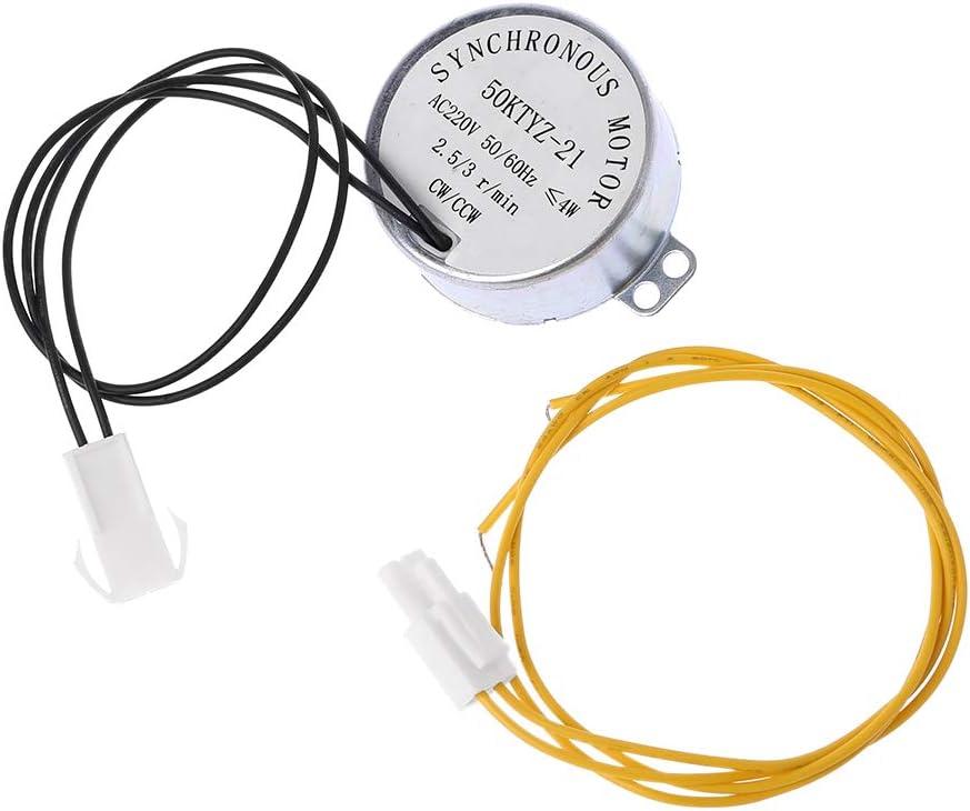 JunYe Motores síncronos de Turner del Huevo del Motor de la incubadora 220V para la incubadora automática del pájaro Hatcher