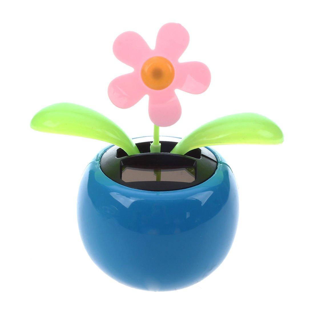 a6ded694f3a1b2 TOOGOO(R) Blue Magic Cute Flip Flap Swing Dancing Solar Powered Flower Toys   Amazon.co.uk  Car   Motorbike