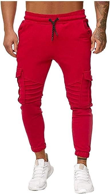 MrTom Pantalones Deportivos Hombre Pantalón de Chandal ...