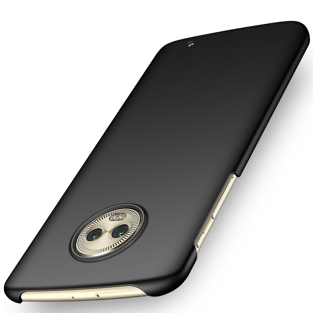ORNARTO Moto G6 Plus Case, Moto G6+ Case,Thin Fit Shell Premium Hard Plastic Matte Finish Non Slip Full Protective Anti-Scratch Cover Cases for G6 ...