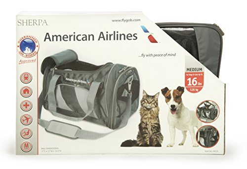 Sherpa American Airlines Duffle Pet Carrier, Medium, Charcoal by Sherpa (Image #7)