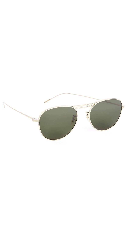 da78b7728f Oliver Peoples Sunglasses 1226 CADE 523671 Gold Olive 52 mm  Amazon.fr   Vêtements et accessoires