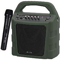 Magicvoice 18431 MV-10175AE Taşınabilir Seyyar Ses Sistemi, Koyu Yeşil