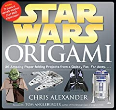 Kids love origami—and what could be cooler than transforming a piece of paper into Boba Fett, Princess Leia, Yoda, or R2-D2? And not just any paper, but custom-designed paper illustrated with art from the movies. Star Wars® Origami mar...