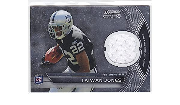 buy popular cf038 2b36b Amazon.com: 2011 BOWMAN STERLING TAIWAN JONES ROOKIE JERSEY ...
