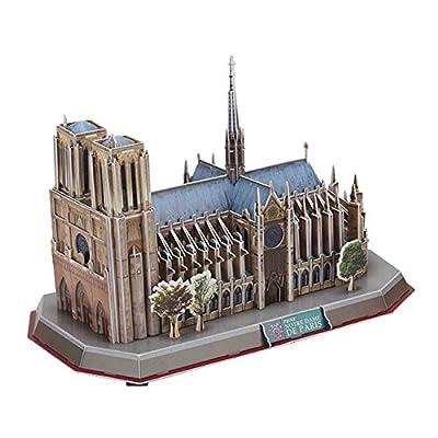 Cubic Fun Notre Dame de Paris, 149 pieces: Toys & Games