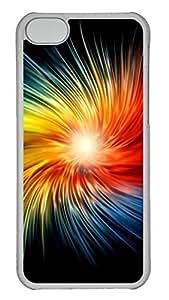 iPhone 5C Case Beautiful Glow PC iPhone 5C Case Cover Transparent