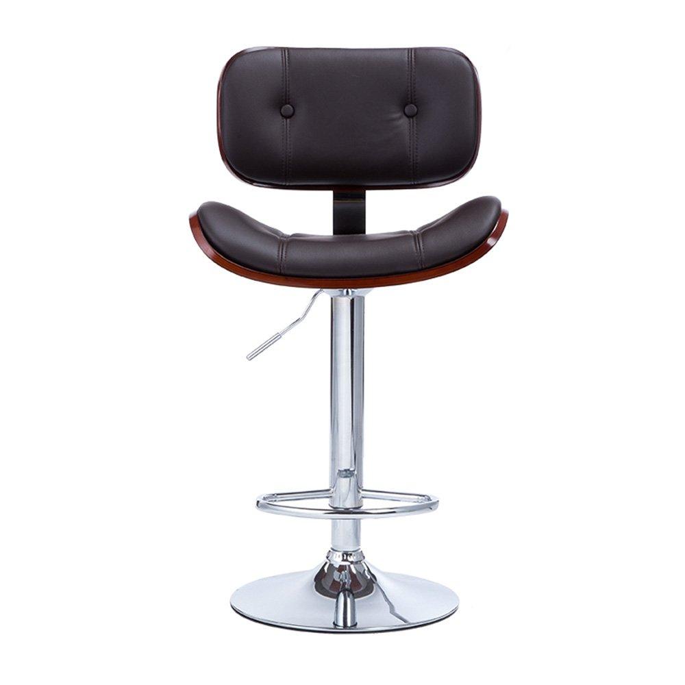 European style retro bar chair / KTV bar desk chair / lift swivel chair / front desk stool, stylish and elegant