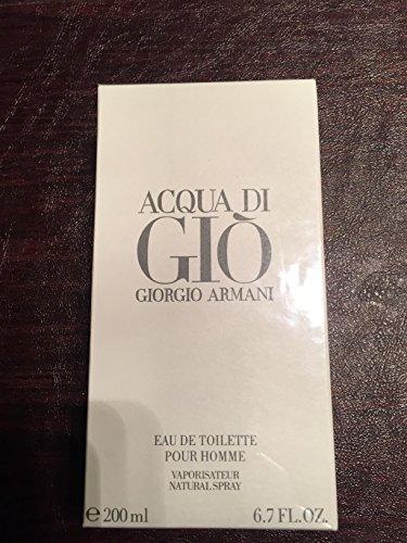 Acqua Di Gio 6.7 Fl. Oz. Eau De Toilette Spray Men by nmebrndprfme