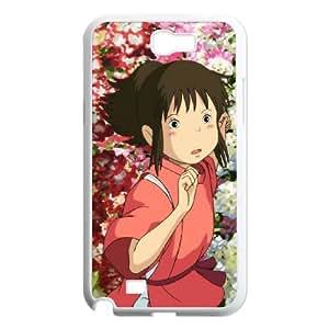 Spirited away Samsung Galaxy N2 700 Cell Phone Case White JR5222741