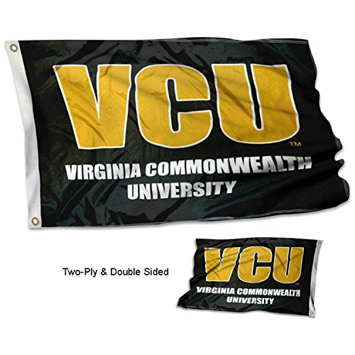 Virginia Commonwealth Rams Two Sided 3' x 5' Flag by College Flags and Banners Co.