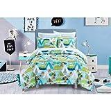 MS Twin/Full Comforter Set, (Dream Big Bed + Handi Wipes, Full)