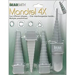Multi Right Angle Wire Mandrel Looping Tool with 4 Shapes and 48 Sizes