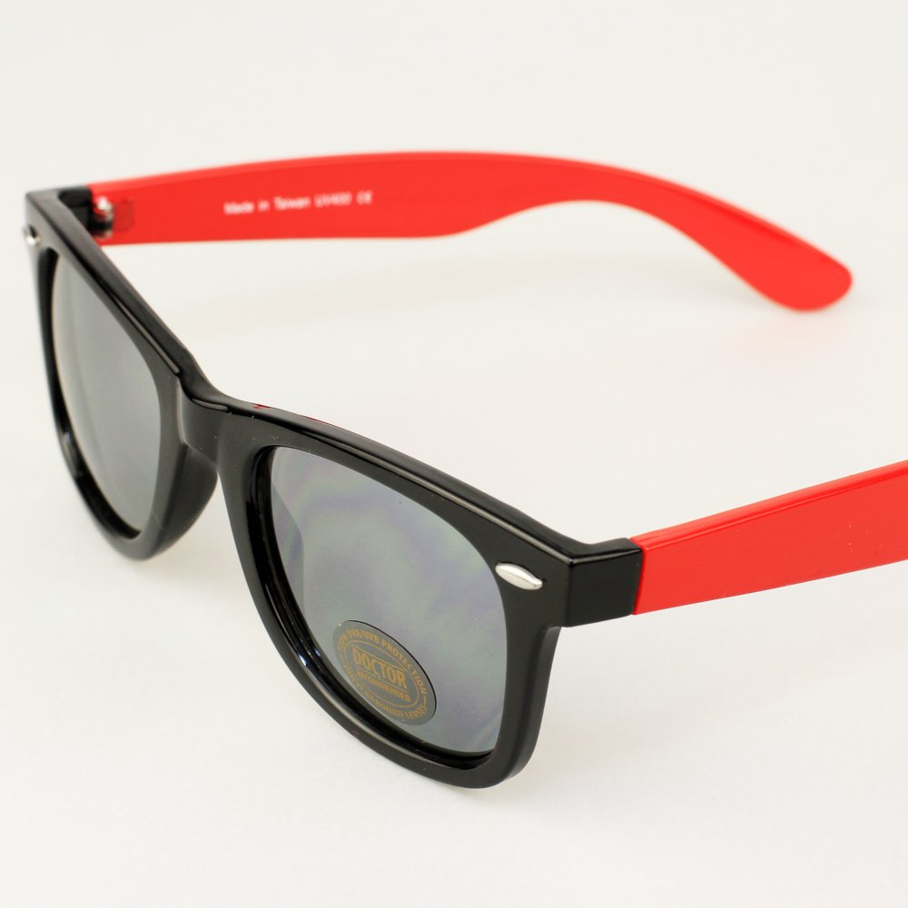 Unbreakable Real Shades Swag Sunglasses for Adults 100/% UVA UVB Protection Black//Red, Silver Mirror Lens Iconic 80s Style Polycarbonate Mirror Lenses