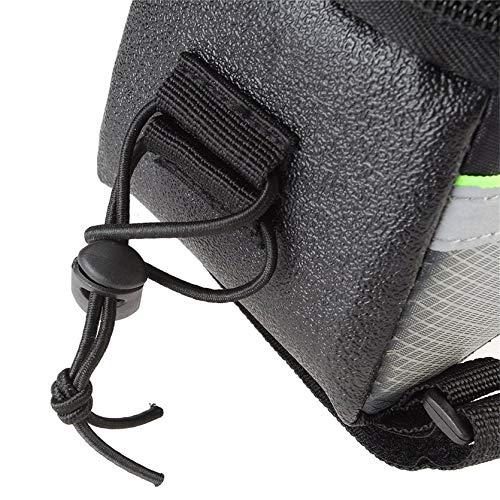 Sylvialuca ROSWHEEL Vélo Vélo Vélo Sacs Panneaux Avant Cadre Avant Tube Sac Écran Tactile Sac pour Téléphone Portable Vélo De Montagne Compteurs vélo