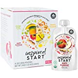 Inspired Start Pack 1, 3 oz. (Pack of 8 baby food pouches) - Organic, Non-GMO, include peanut, treenut, soy and egg in baby's diet