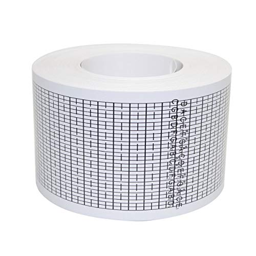 Pursuestar One Roll 20 Meters Long Blank Refill Paper Strips Tape for 30 Note DIY Hand Crank Music Box Movement