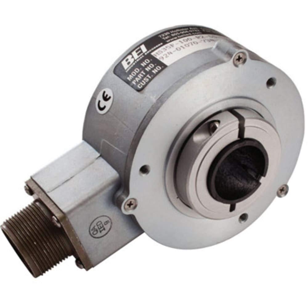 Encoder; Incremental; Optical; 5-28Vin/5Vout; 2048 Cycles/Turn; IP65; 1'' Shaft