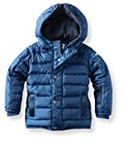Appaman Big Boys' Expedition Hooded Winter Coat, Marine, 8