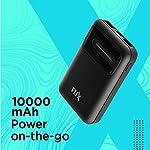 FLiX (Beetel) Marathon M1 Pocket 10,000 mAh Lithium Polymer Power Bank with 2 USB Output & LED Indicator, Type C Input…