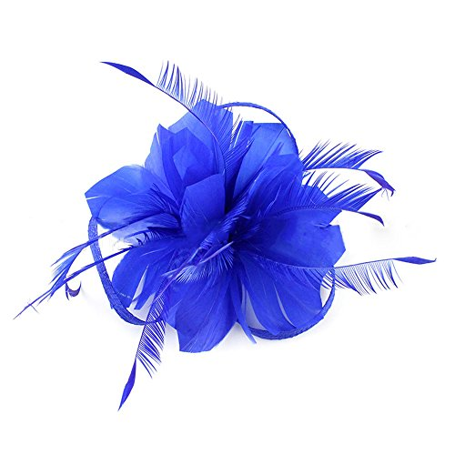 Auranso Flax Hair Clip Feather Barrette Hairpin Party