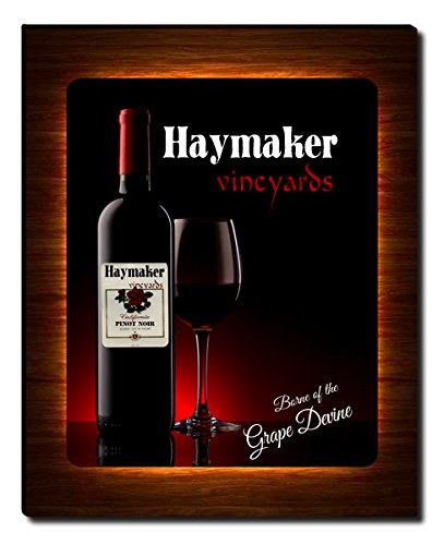 Haymaker's Vineyards Wine Gallery Wrapped Canvas Print