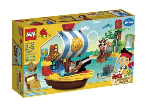 LEGO DUPLO Jakes Pirate Ship Bucky 10514(Discontinued by manufacturer) -