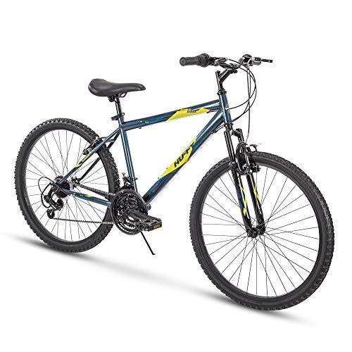 Huffy Hardtail Mountain Bike, Summit Ridge 24-26 inch 21-Speed, Lightweight (Renewed)