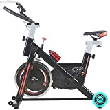 SKEMiDEX---Fitness Gym Indoor Cycling Exercise Bike Trainers w/ LCD Screen 33 lb Flywheel. Easy to operate and convenient to use, you can use it in office, home or other indoor places SKEMIDEX