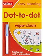 Dot-to-Dot Age 3-5 Wipe Clean Activity Book: Ideal for Home Learning