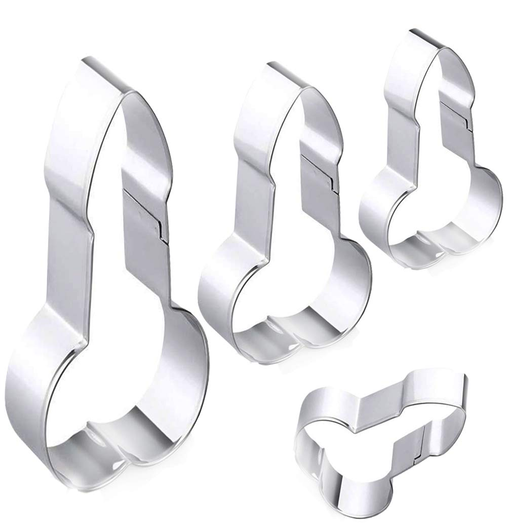 Bachelorette Party Cookie Cutters, Stainless Steel Naughty Bachelorette Party Gag Gift, Assorted Sizes 51egy4qNY1L
