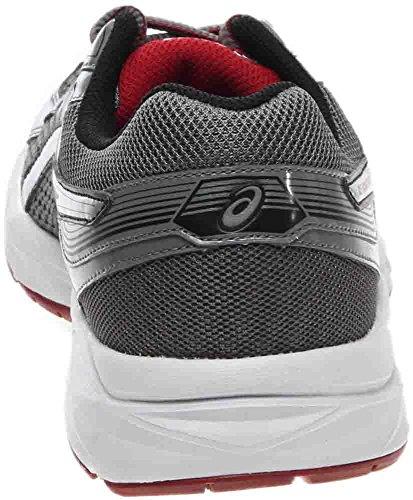 Red Silver Gel Shoe Men's ASICS 3 Grey Contend Titanium Running z4qzp6x8