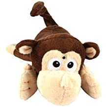 Chuckle Buddies ~ Rolling Laughing Motion-activated Monkey - In a Gift Box by Island Dogs
