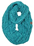 S1-6800-46 Funky Junque Infinity Scarf - Teal/Mint (#15)
