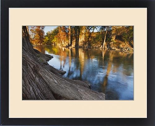 Framed Print of Guadalupe River, Texas hill country, autumn by Fine Art Storehouse