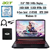 """2021 Newest Acer Nitro 5 15.6"""" FHD Gaming Laptop"""